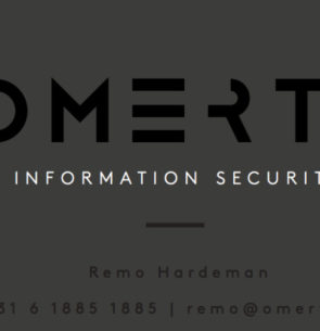 Remo Hardeman, Consultant, Omerta information Security